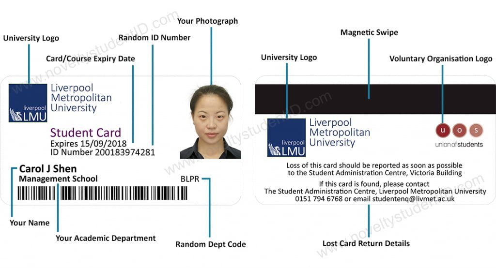 ǀ Student Fake Id The Of Novelty Home