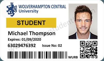 Wolverhampton Novelty Student ID