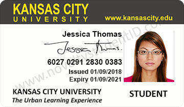 Kansas city student ID card