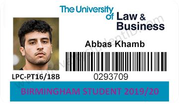 Law fake ID