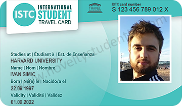 International student ID