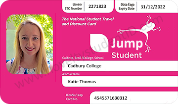 Jump Leap Student ID Cadbury College