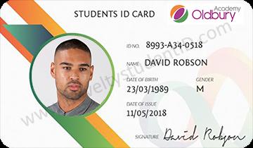 Oldbury Academy Student ID