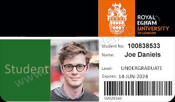 London student ID