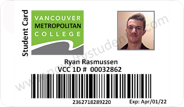 Vancouver College Student
